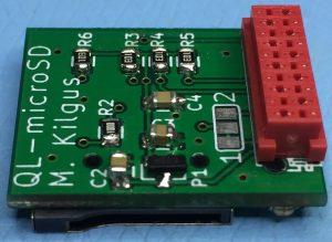 QL-microSD PCB